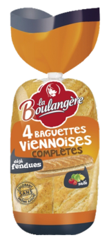 Viennese Wholemeal Baguette